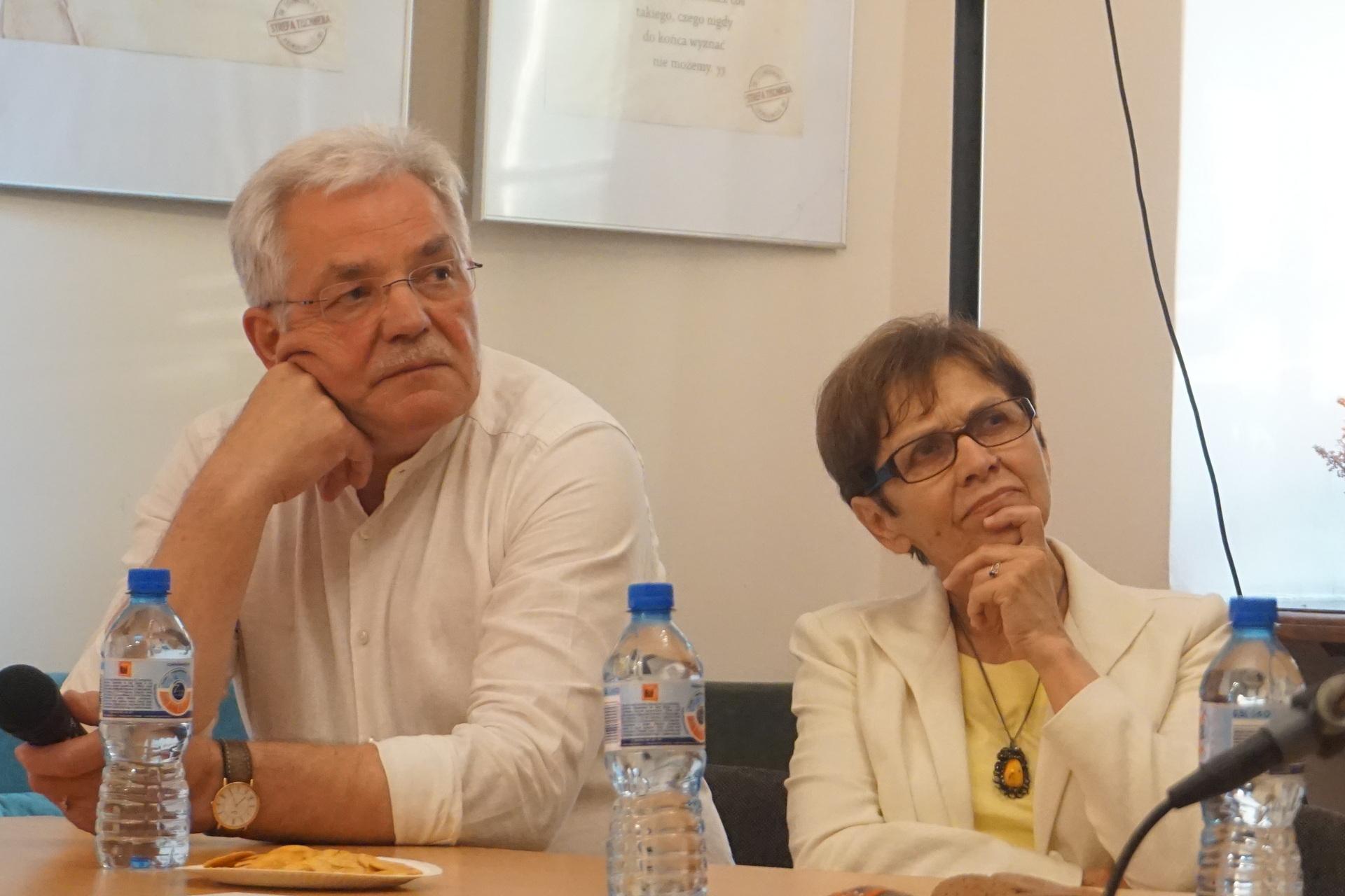 Stanisław Kracik i Jadwiga Konarzewska-Kracik