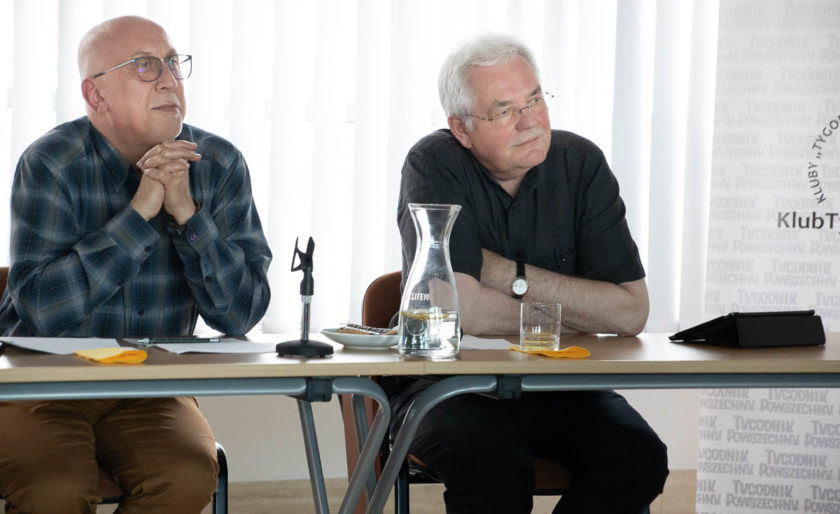 Marek Lasoa i Stanisław Kracik